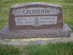 Artye Agness <i>Hazen</i> Galbreath