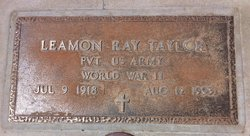 Leamon Ray Taylor
