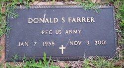 PFC Donald S Farrer