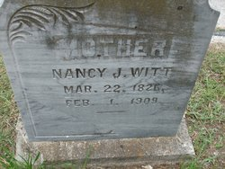Nancy Jane <i>Hamilton</i> Witt
