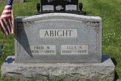 Ella Nora <i>Biehl</i> Abicht
