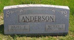 Hazel F. Anderson