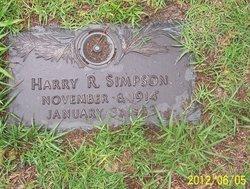 Harry R Simpson