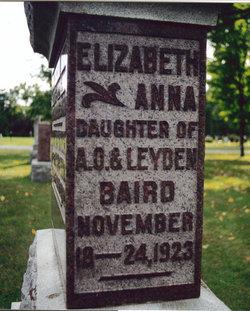 Elizabeth Anna Baird