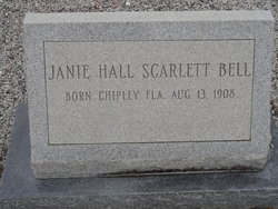 Janie Hall <i>Scarlett</i> Bell