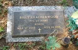 PFC Billy Leatherwood, Sr