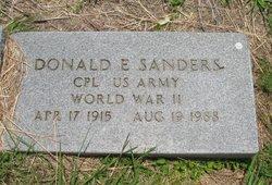 Donald E. Sanders