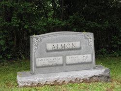 Alzada Frances Fannie <i>Davis</i> Almon