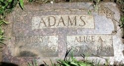 Alice Amanda <i>Wardwell</i> Adams