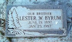 Lester W Byrum