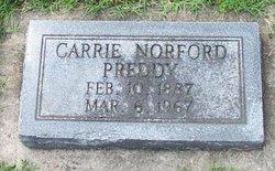 Carrie Lee <i>Norford</i> Preddy