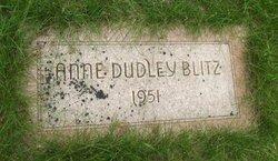 Anne <i>Dudley</i> Blitz