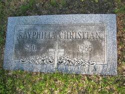 Rayphilia Ray <i>Johnson</i> Christian