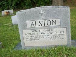 Robert Carlton Alston