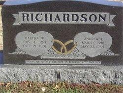 Mrs Martha Ethel <i>Wheeler</i> Richardson
