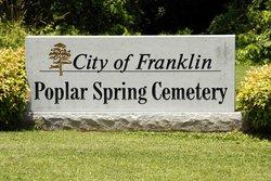 Poplar Spring Cemetery
