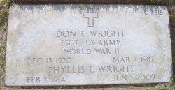 Don E Wright