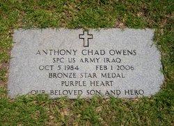 Spec Anthony C Owens