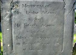 Mrs. Lydia Adams