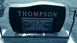 Sgt Jacob Martin Thompson