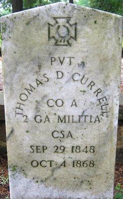 Thomas D Currell