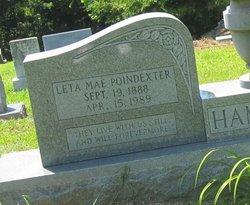 Leta Mae <i>Poindexter</i> Hamilton