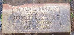 Sarah Ann <i>Battle</i> Bailey