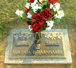 Virginia <i>Felker</i> Barnhardt
