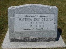 Matthew John Matt Steffen