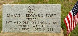 Marvin Edward Fort