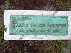 Artie <i>Taylor</i> Andrews