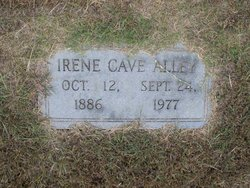 Irene <i>Cave</i> Alley