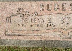 Dr Lena H <i>Hodges</i> Rudesill