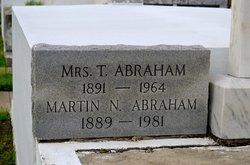 Martin N. Chink Abraham