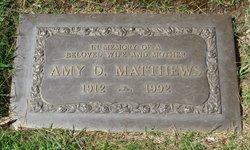 Amy <i>Devey</i> Matthews