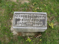 Harriet <i>Esterly</i> Ballard