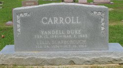 Lelia Jewel <i>Scarborough</i> Carroll