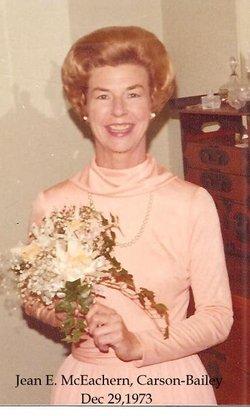 Jean Eleanor <i>McEachern</i> Bailey