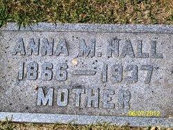 Anna M <i>Glader</i> Hall