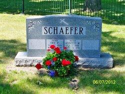 Annette M <i>Seymour</i> Schaefer