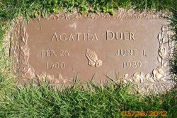 Agatha Duer