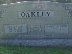 Thomas Wesley Oakley