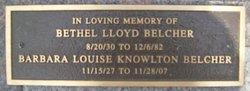 Barbara Louise <i>Knowlton</i> Belcher