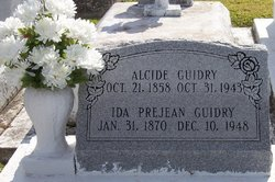 Ida <i>Prejean</i> Guidry