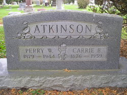 Carrie Josephine <i>Brewster</i> Atkinson