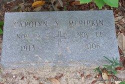 Carolyn M <i>Yarborough</i> McPipkin