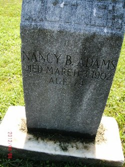 Nancy <i>Blowers</i> Adams