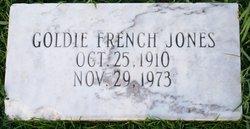 Goldie <i>French</i> Jones