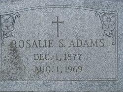 Rosalie S. <i>Sneeringer</i> Adams