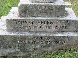 Sydney Helen <i>Ellis</i> Cheston